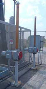 Cranks for Slide Gates at Cahokia Pump Station