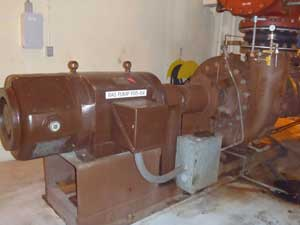 Return Activated Sludge Pump - Pumps RAS back to the aeration tanks