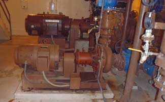 Waste Activated Sludge Pump - Pumps WAS to the thickeners